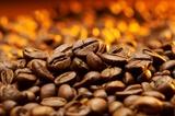 szczegół ziaren kawy
