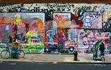 Graffiti na ulicach miasta