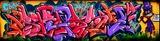 Niesamowite kolorowe graffiti
