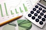 biznes wykres przedstawiający sukces finansowy na giełdzie