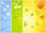 Cztery sezonowe tła