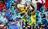 tło grafitti