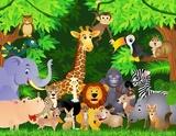 kreskówka zwierząt
