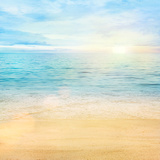 Tło morza i piasku