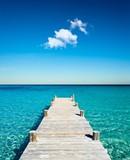 wakacje na pontonie na plaży