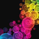 Streszczenie kolorowe tło.