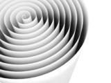 spirala streszczenie spirala czarno-białe tło