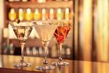 Koktajle Martini Margarita Cosmopolitan