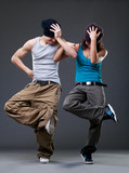 Para tańca pasyjnego.