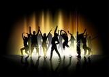 Pokaz tańca i światła