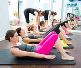 Aerobic Pilates - osobisty trener na zajęciach grupowych w siłowni