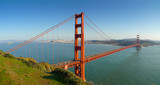 Most Golden Gate w San Francisco panoramiczny