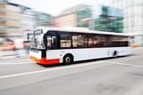 jazda autobusem w mieście