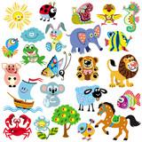 zestaw z obrazkami dla dzieci
