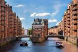 Hamburski zamek z fosą