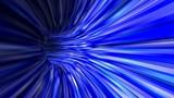 Abstrakcjonistyczny błękitny 3d tunelu tło