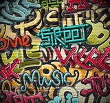 Graffiti w tle