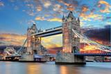 Tower Bridge w Londynie, Wielka Brytania