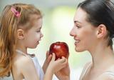 jedzenie zdrowej żywności