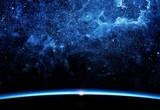 Ziemia i galaktyka.