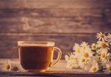 filiżanka herbaty z rumianku