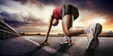 Sport. Biegacz.