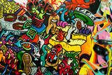 graffiti miejskie