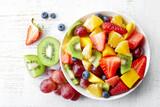 Świeża sałatka owocowa