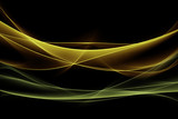 Zielony żółty wzór światła
