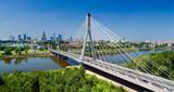 Most w Warszawie nad Wisłą