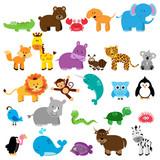 Wektor Kolekcja zwierząt