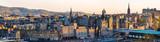Panorama centrum Edynburga - Szkocja