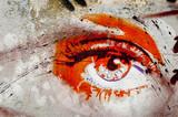 Oczu graffiti