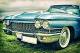 stary amerykański samochód w stylu vintage