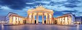 Brama Brandenburska, Berlin, Niemcy - panorama
