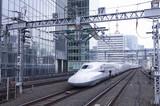 Pociąg Bullet w Japonii