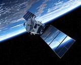 Satelita orbitująca wokół Ziemi