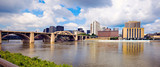 Panoramiczne Grand Rapids, Michigan, USA.