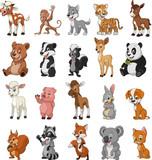 Śmieszne zwierzęta dla dzieci