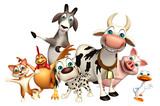 Kolekcja zwierząt hodowlanych