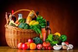 Zakupy żywności, warzywa i owoce