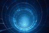 Abstrakcjonistyczna futurystyczna 3D prędkości tunelowa osnowa - podróż kosmiczna