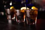 alkoholowe brązowe koktajle