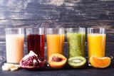 Zbiór soków owocowych