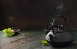 Wizerunek tradycyjny wschodni teapot