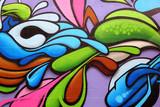 Kolorowe graffiti sztuki