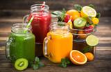 Zdrowe koktajle owocowo-warzywne