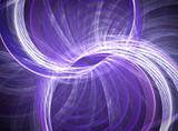 niebieski fraktal spirali abstrakcyjne tło