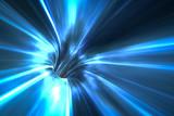 tunel osnowy w kosmosie
