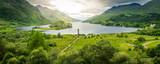 Pomnik Glenfinnan, na czele Loch Shiel, Inverness-shire, Szkocja.